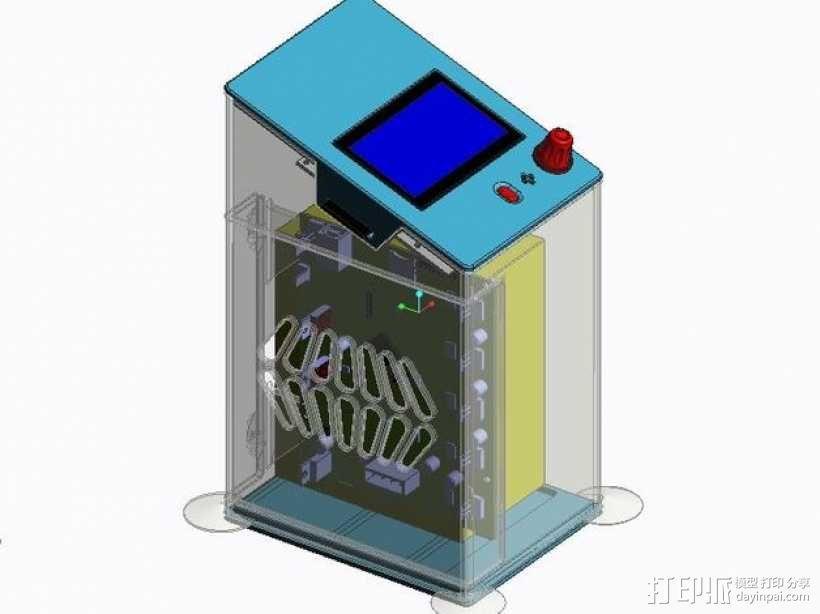 控制器保护盒 3D模型  图1