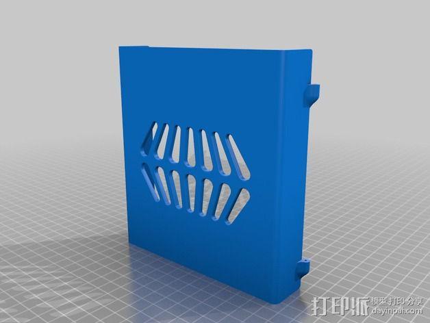 控制器保护盒 3D模型  图7