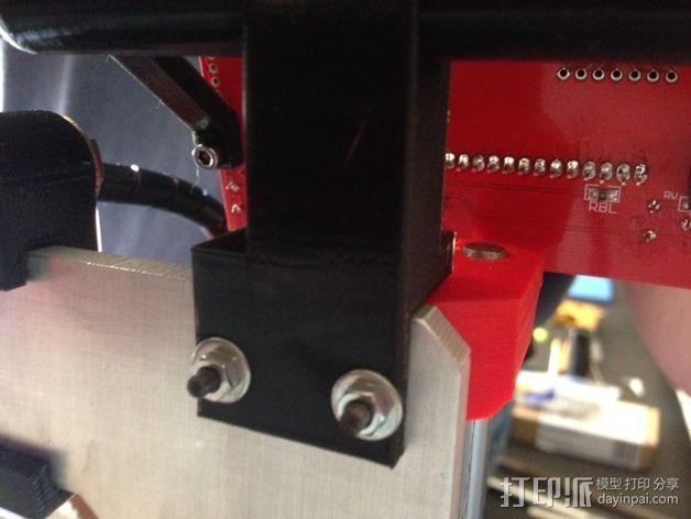 RepRep控制器液晶显示屏支架 3D模型  图4