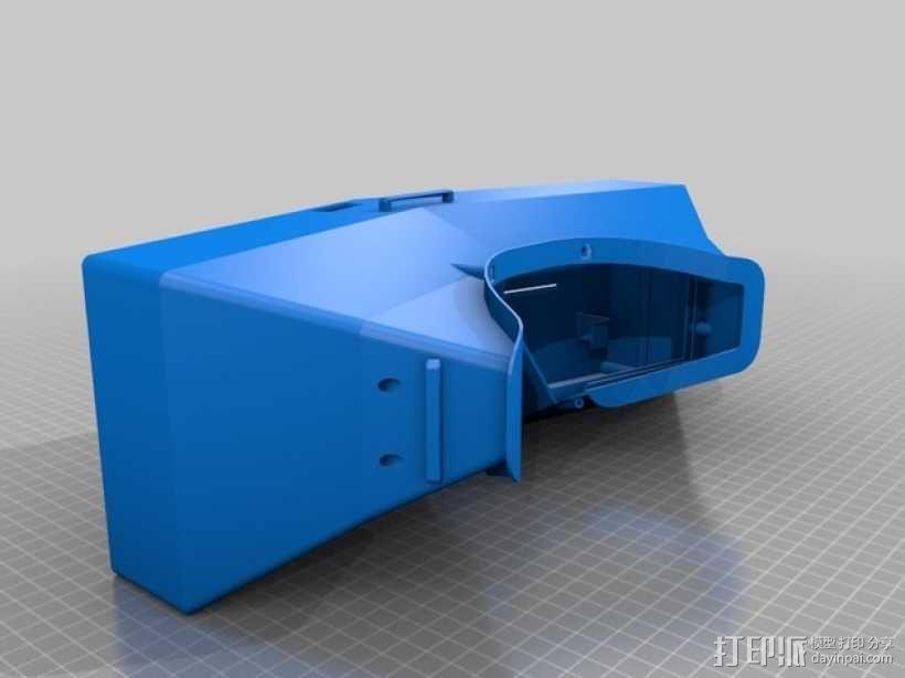 虚拟现实眼镜盒 3D模型  图1