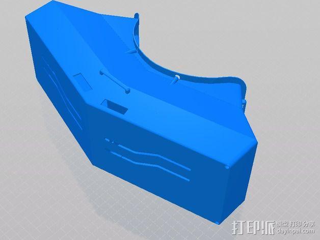 虚拟现实眼镜盒 3D模型  图4