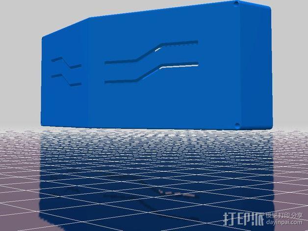 虚拟现实眼镜盒 3D模型  图3