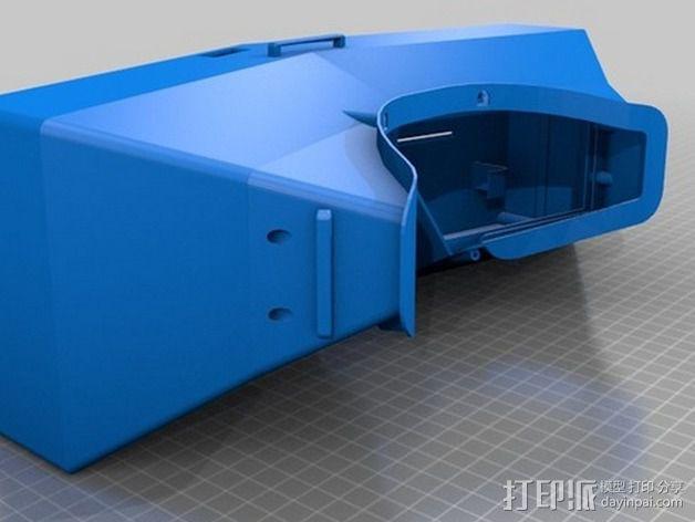 虚拟现实眼镜盒 3D模型  图2