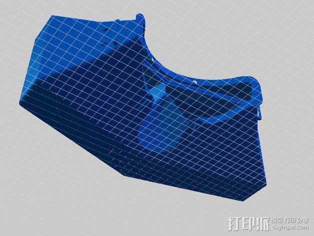 虚拟现实眼镜盒 3D模型  图6