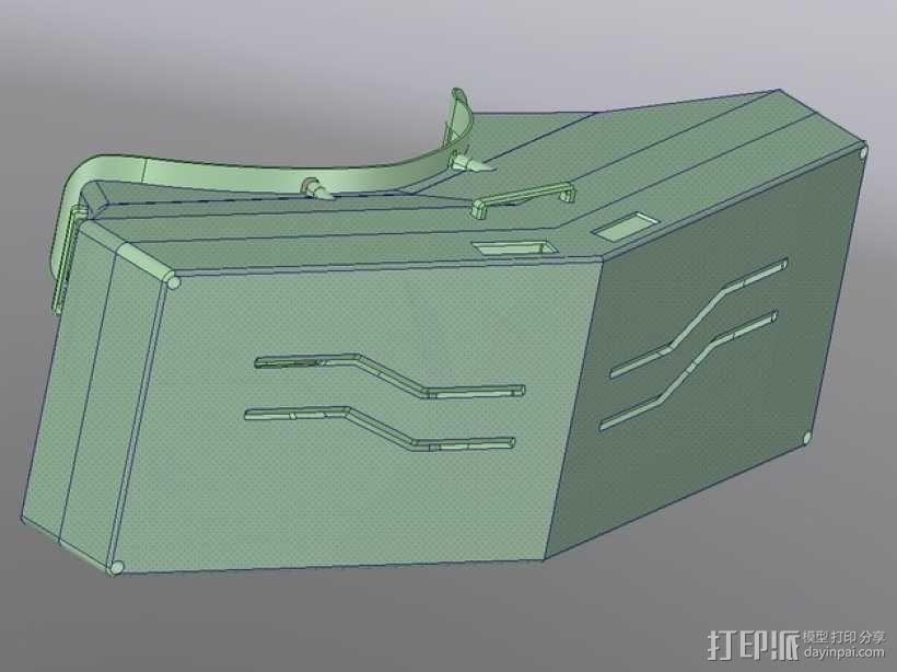 虚拟现实眼镜盒 3D模型  图9