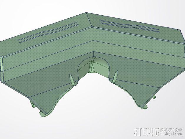 虚拟现实眼镜盒 3D模型  图10