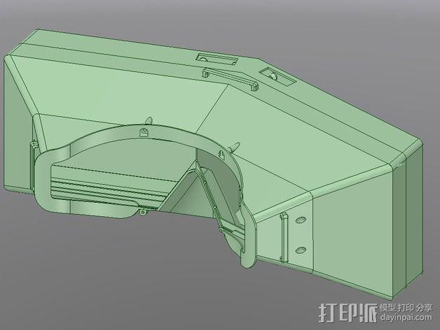 虚拟现实眼镜盒 3D模型  图8