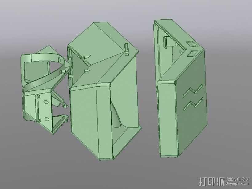 虚拟现实眼镜盒 3D模型  图13