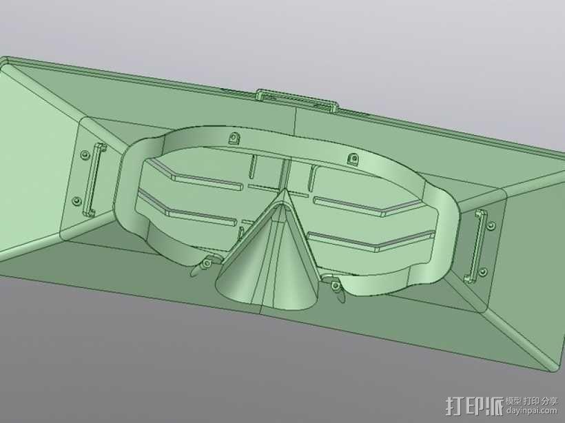 虚拟现实眼镜盒 3D模型  图12