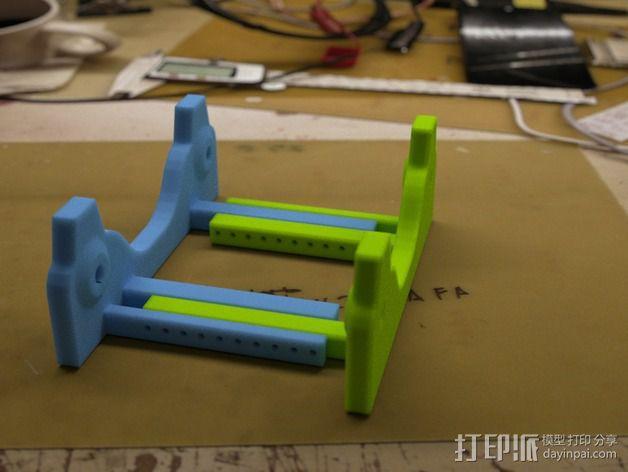 通用式线轴支架 3D模型  图1
