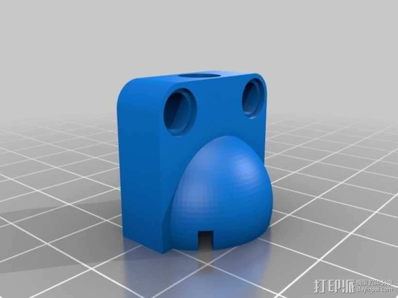 参数化滚珠轴承 3D模型  图2