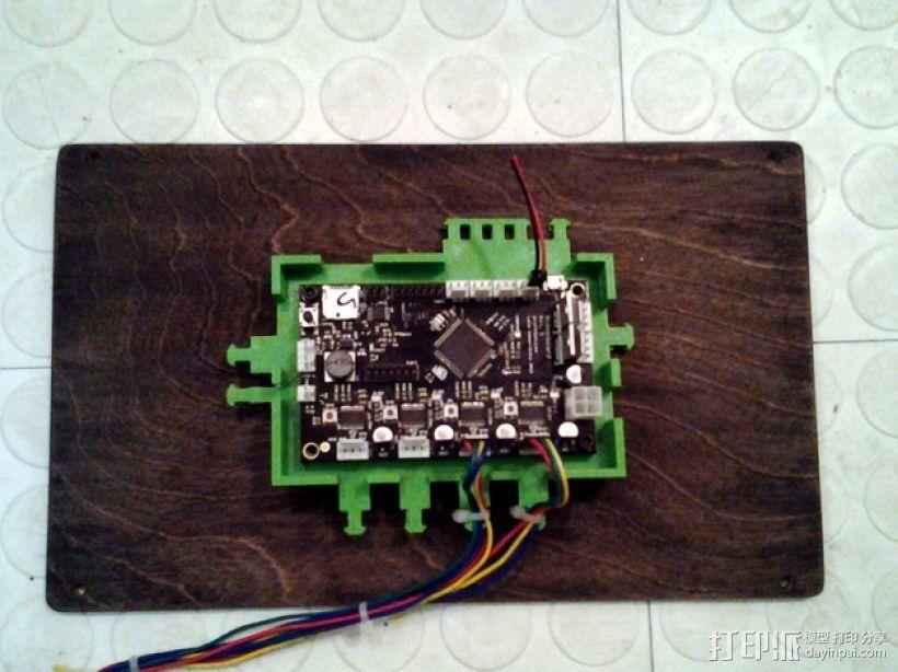 打印机电路板外罩 3D模型  图1