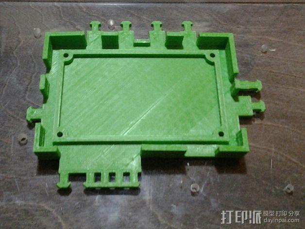 打印机电路板外罩 3D模型  图8