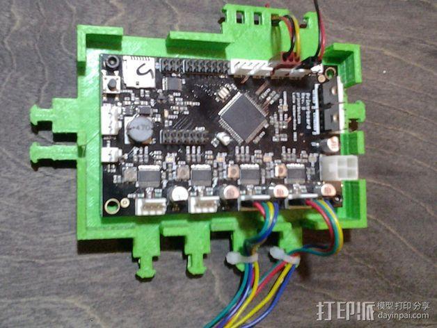 打印机电路板外罩 3D模型  图7