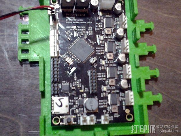 打印机电路板外罩 3D模型  图9