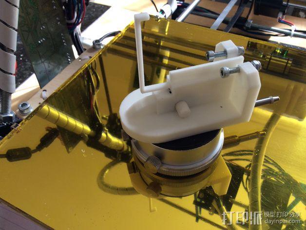 调平器支架 3D模型  图3