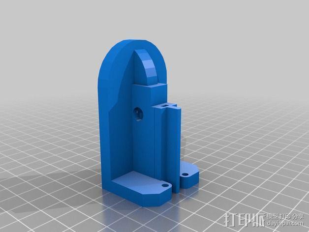 调平器支架 3D模型  图4
