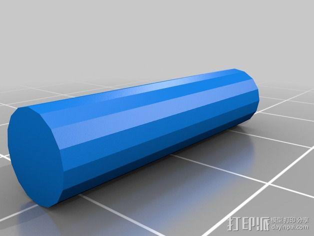 调平器支架 3D模型  图7