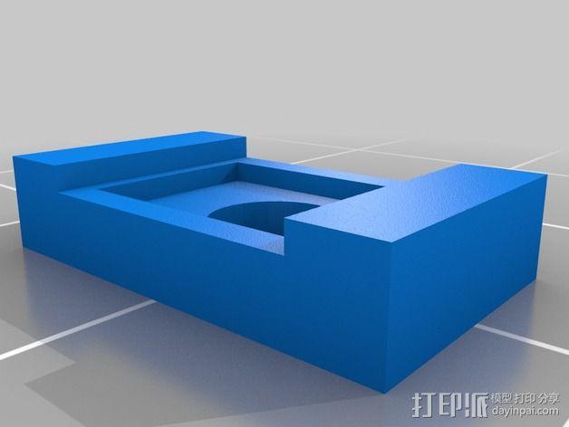 打印测试 路障 花盆 3D模型  图5