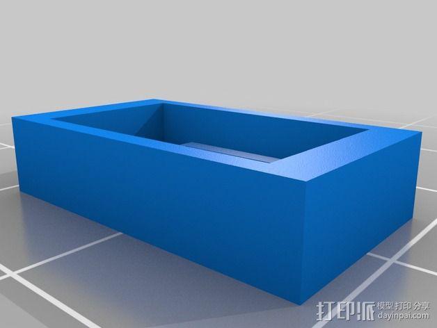 打印测试 路障 花盆 3D模型  图4