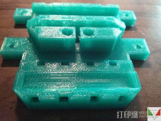 打印测试 路障 花盆 3D模型  图7
