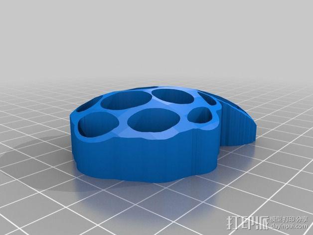 树莓派标志 3D模型  图2