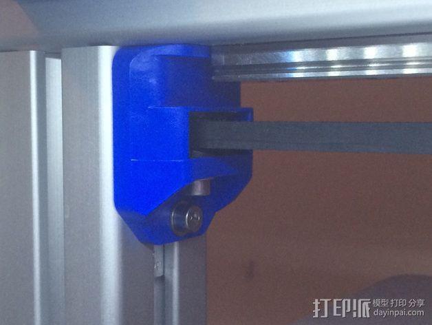 GT2皮带惰轮 3D模型  图3