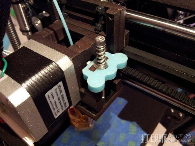 弹簧板 把柄 3D模型  图1