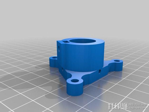 磁力连接器 探针 3D模型  图3