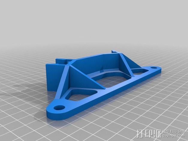 线轴架 3D模型  图1