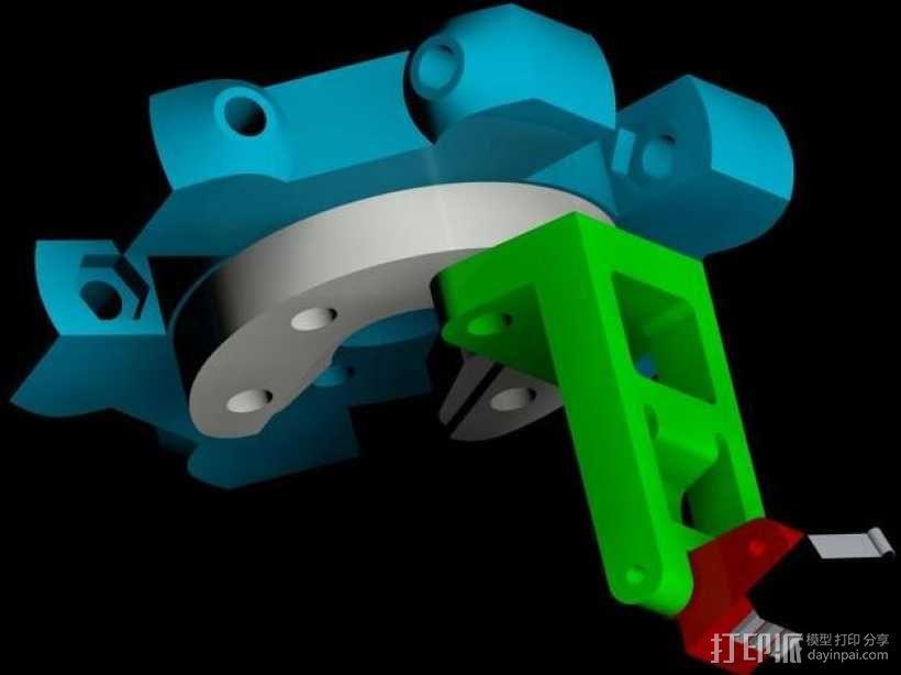 自动调平取消探针 3D模型  图1