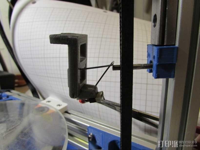 自动调平取消探针 3D模型  图4