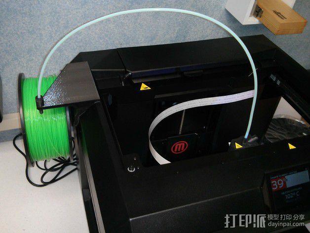 加大版线轴支架 3D模型  图4