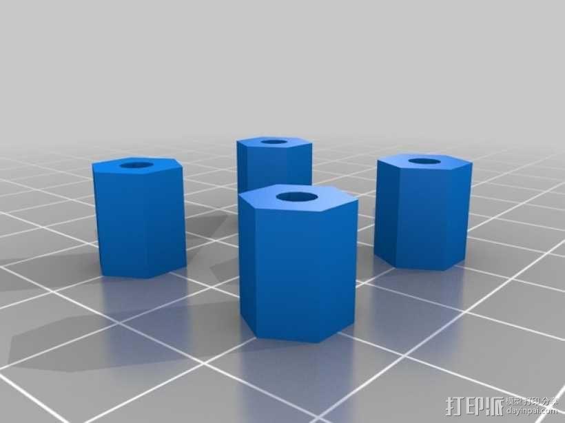 RAMPS 1.4 电路板外罩 3D模型  图13