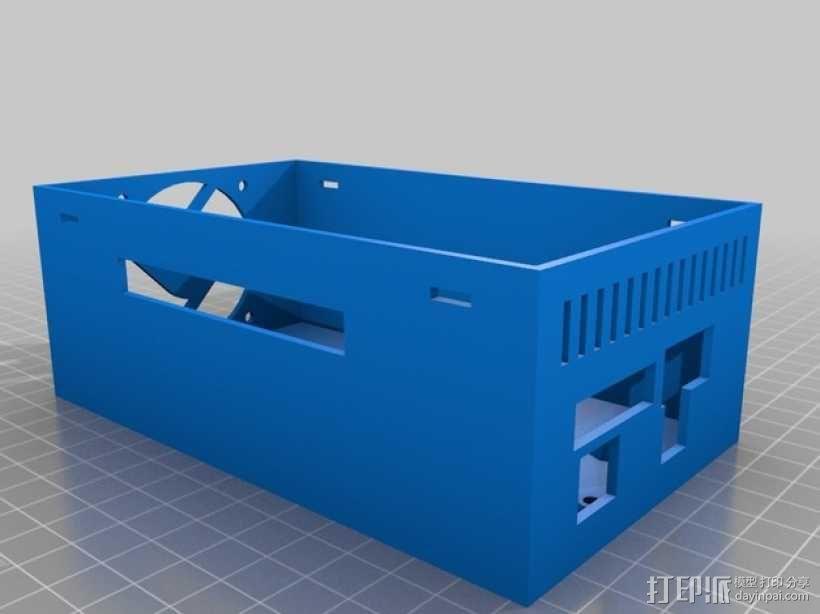 RAMPS 1.4 电路板外罩 3D模型  图12