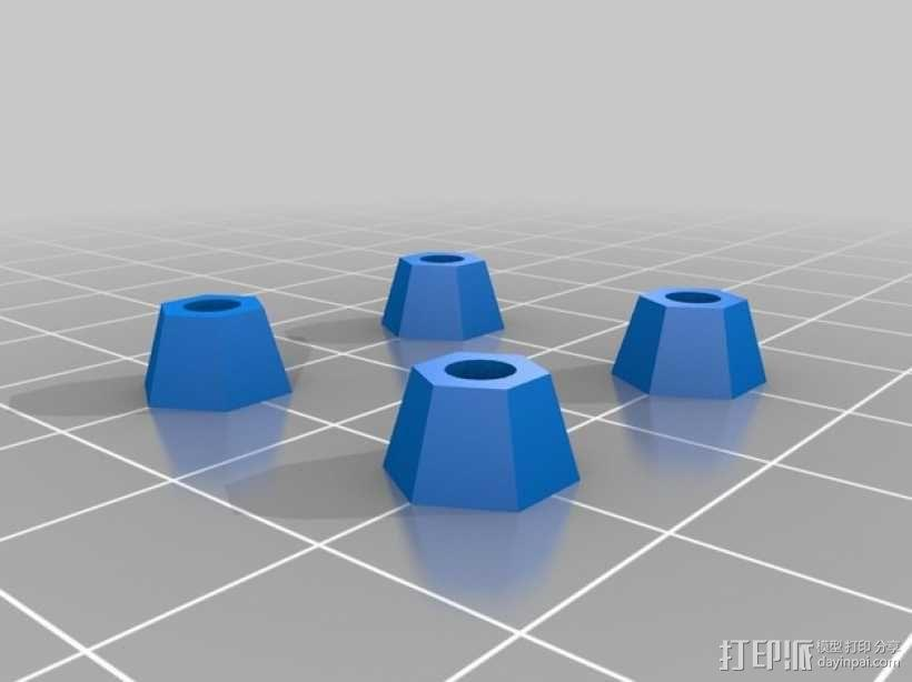 RAMPS 1.4 电路板外罩 3D模型  图14