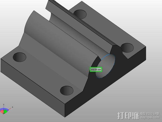 TAZ套管 3D模型  图3