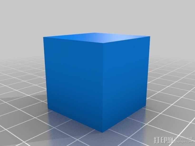 MakerGear M2打印机测试 3D模型  图1