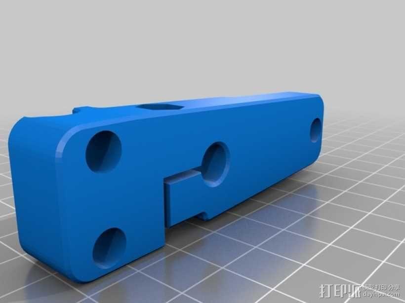 MakerBot Replicator 2打印机指示器支架 3D模型  图5