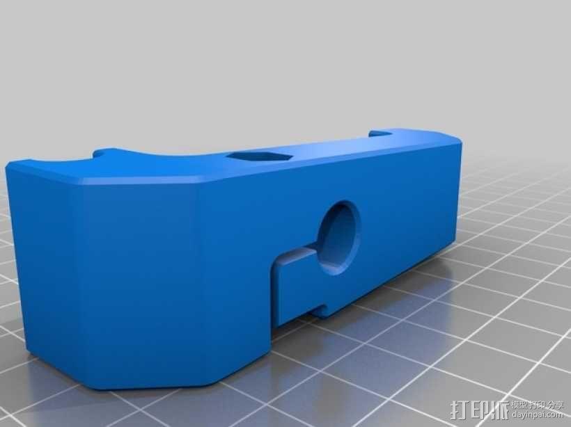 MakerBot Replicator 2打印机指示器支架 3D模型  图6