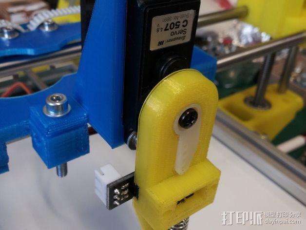打印机调平探针 3D模型  图2