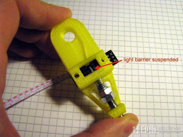 打印机调平探针 3D模型  图9