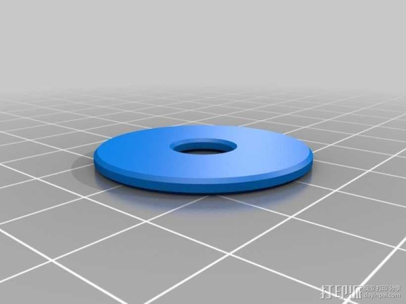 Ultimaker打印机原装线轴支架 3D模型  图8