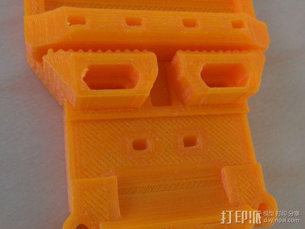 Prusa i3打印机X轴部件 3D模型  图2