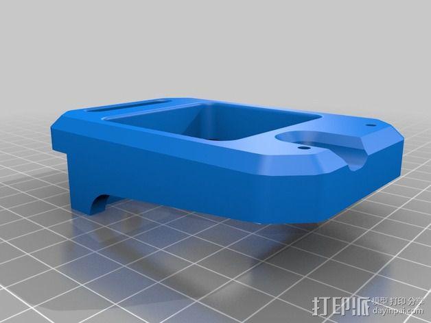 挤出机支架 3D模型  图4