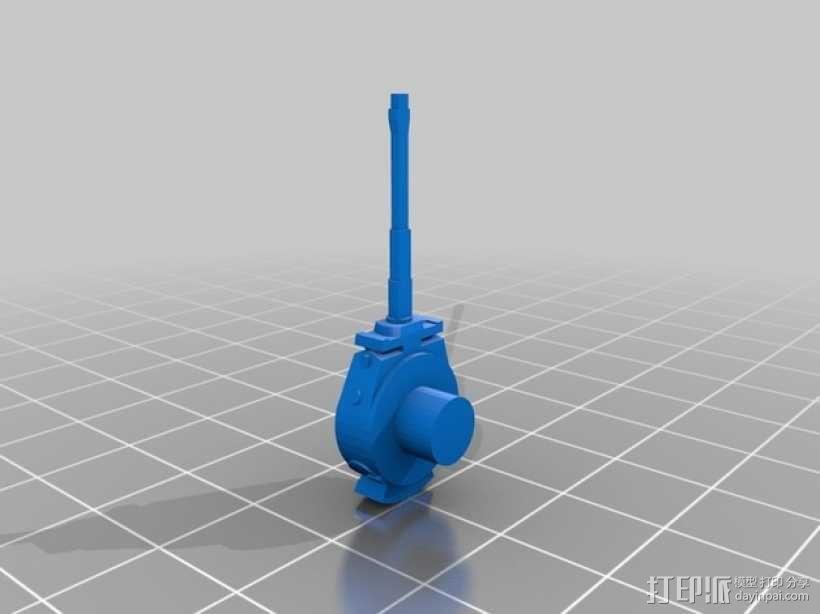 虎式坦克 3D模型  图3