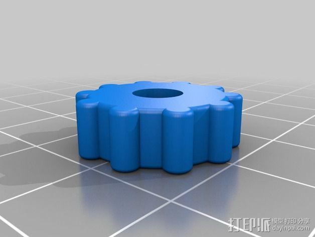 MendelMax 打印机Z轴限位开关 3D模型  图4