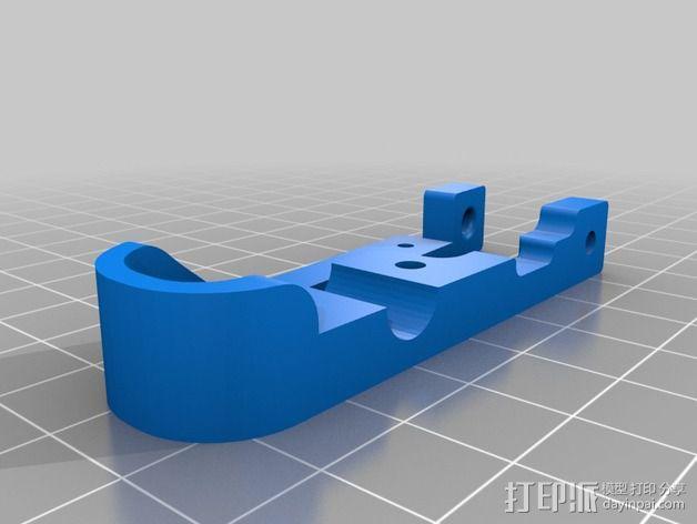 MendelMax 打印机Z轴限位开关 3D模型  图3