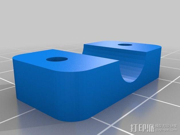 MendelMax 打印机Z轴限位开关 3D模型  图2