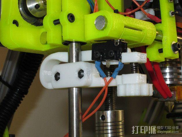 MendelMax 打印机Z轴限位开关 3D模型  图6